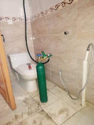 كشف تسربات المياه بحي الملك عبدالعزيز